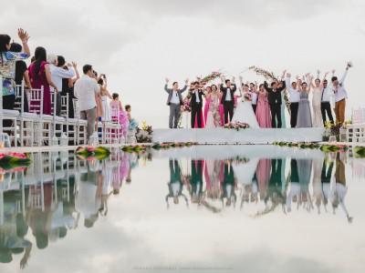 ERICK & DECY  WEDDING DAY   VILLA ANUGRAH BALI